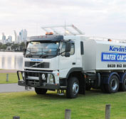Trucks are customised for road works construction & maintenance